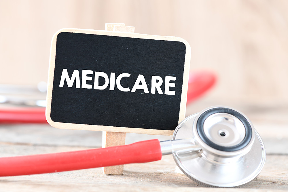 Medicare With Stethoscope