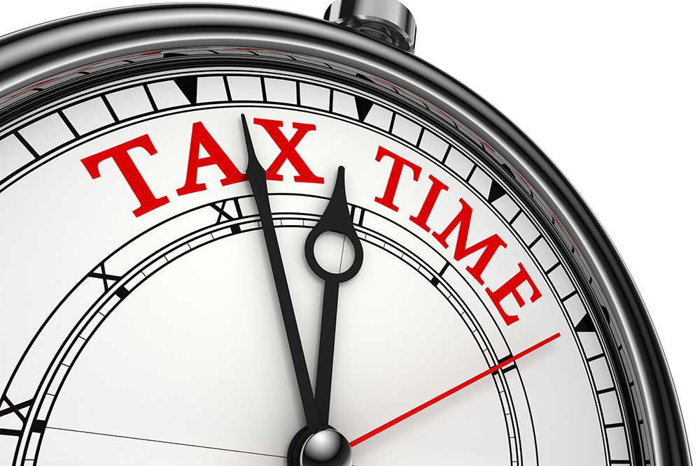 Tax Time Stop Watch