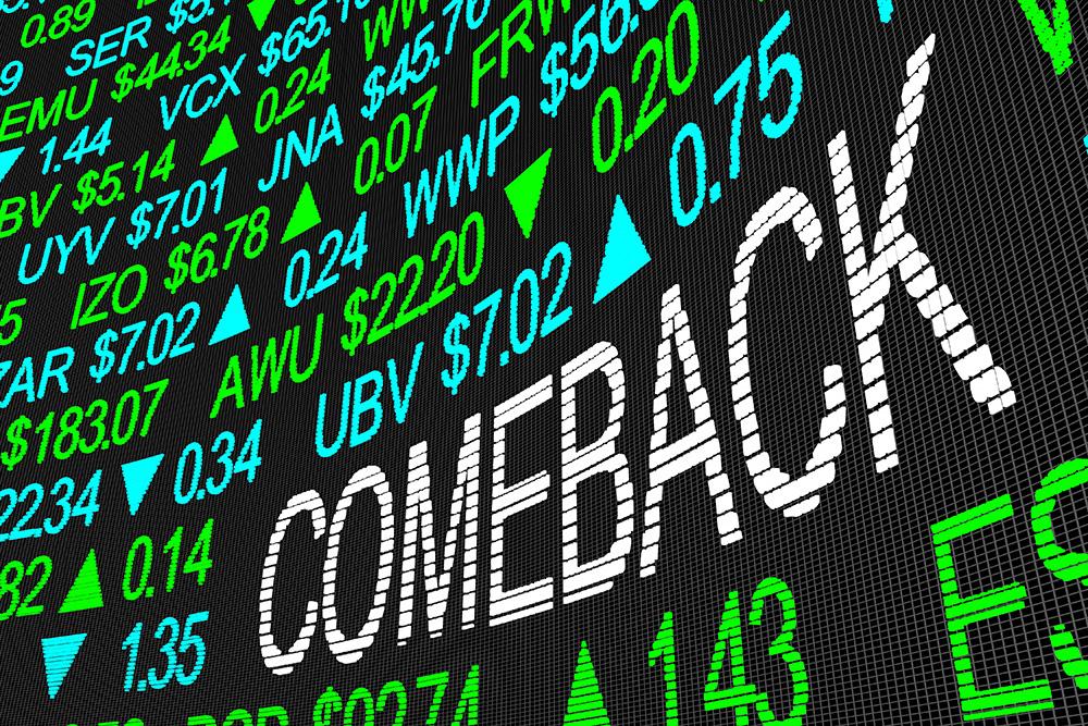 stock market screen